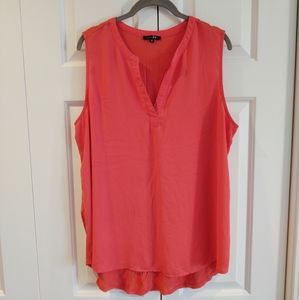 🌀Papermoon brightly colored v-neck tank, 1X